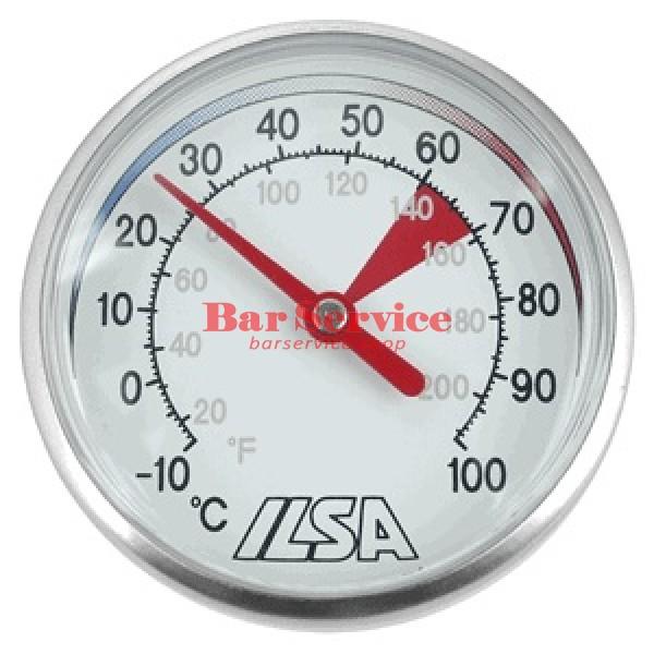Термометр д/молока; сталь; D=45,L=138/125,B=55мм; металлич. в Кирове