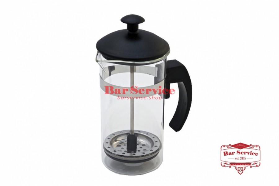 Чайник-кофейник Черный Объем: 350 мл. (френч пресс) в Кирове